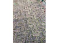 Block paving approx 10 sq m