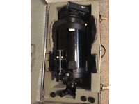 Celestron c8 + with geardrive and full tripod stand