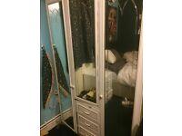 2 piece bedroom wardrobe