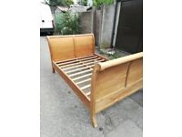 New Teak Hard wood bed 5foot £175