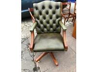 Chesterfield/captains chair