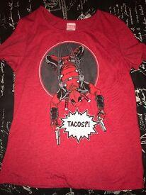 Women's Deadpool marvel t shirt