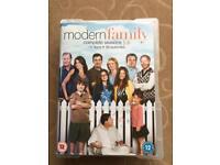 Modern Family DVD series 1-4
