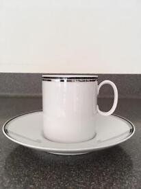 Thomas China 'Night and Day' Cup and Saucer