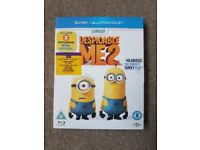 Despicable me 2 blu-ray. In good working condition.