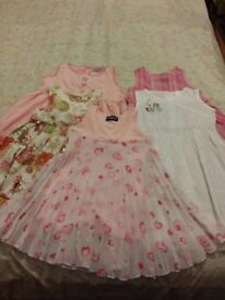 5 girls dresses 3-5 years old