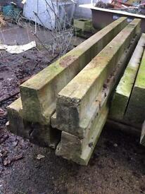 Precast concrete T beams