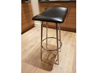 Pair Of Kitchen / Bar Rotating Stools - Brand New