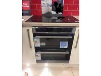 NEW Fitted double owen Electrolux model EOU5420AAX. Size to fit opening 60x70cm;