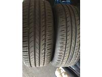 Kingstar 225 55 17 Part Worn tyres(almost new)