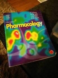 Pharmacology textbook