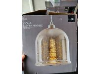 3x BRAND NEW Next Viola Ceiling Light