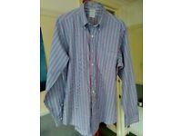 Brooks Brothers Slim Fit Striped Shirt - Size M