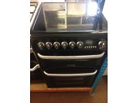 CANNON ELECTRIC COOKER 60cm WIDE DOUBLE OVEN WITH GRILL FREE DELIVERY AMD WARRANTY