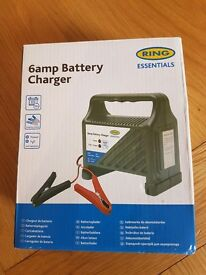 CAR BATTERY CHARGER NEW