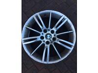 "Bmw mv3 alloy wheel front 18"""