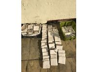 (We are in Bristol) approx 100 Fired Earth hand made ceramic tiles