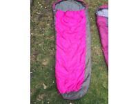 3 children's sleeping bags