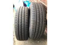 VW Continental premium tyres 195/65 R15 (without wheels/alloys)