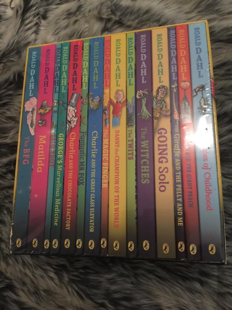 Brand new 15 book Roald Dahl collection