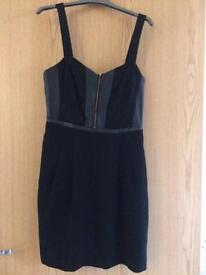 Black oasis dress