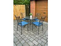 Garden Table and Chairs. Garden Metal Furniture