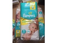 Pampers premium size 1
