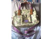 "Pink lining ""yummy mummy"" changing bag"