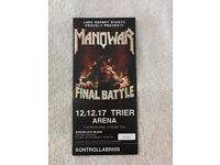 The Final Battle World Tour: Manowar in Trier, Germany
