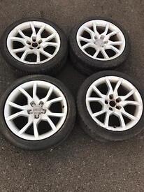 "18"" Audi s5 alloys 5/112 fits VW AUDI SEAT SKODA"