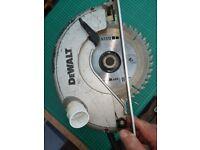 DeWalt circular saw mains operated heavy duty 190 mm blade