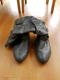 Pair of size 6 boots.