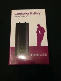 GAMEware Controller battery for Wii U/Wii remote