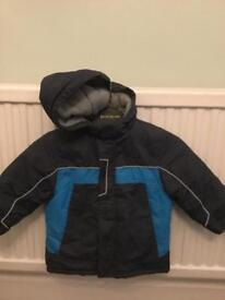 Mothercare fleece lined very warm winter coat age 2-3