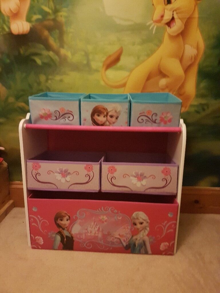 Frozen themed toy storage
