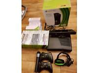 Xbox 360 Console Bundle 21 Games, kinect, 2 controllers + more
