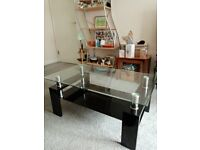 Used Glass Coffee Table / Buyer collects