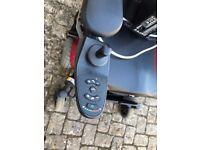 Electric Dual Control Wheelchair