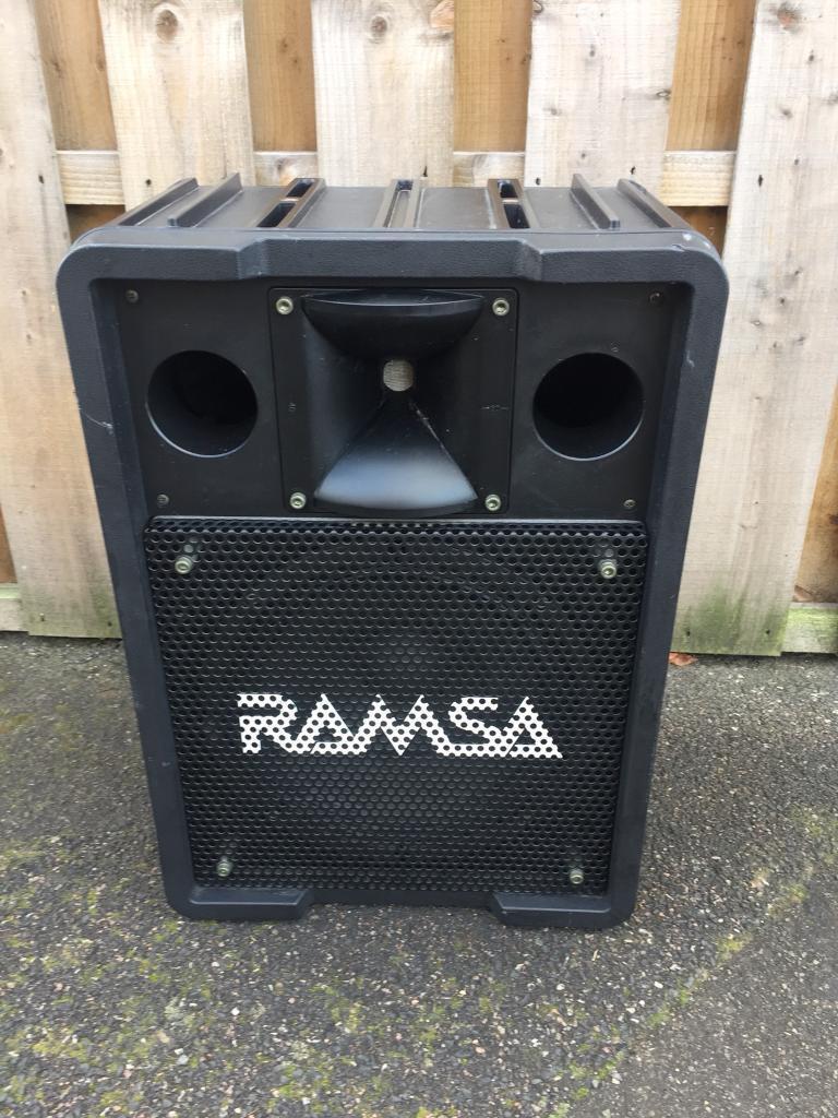 Ramsa Panasonic speaker