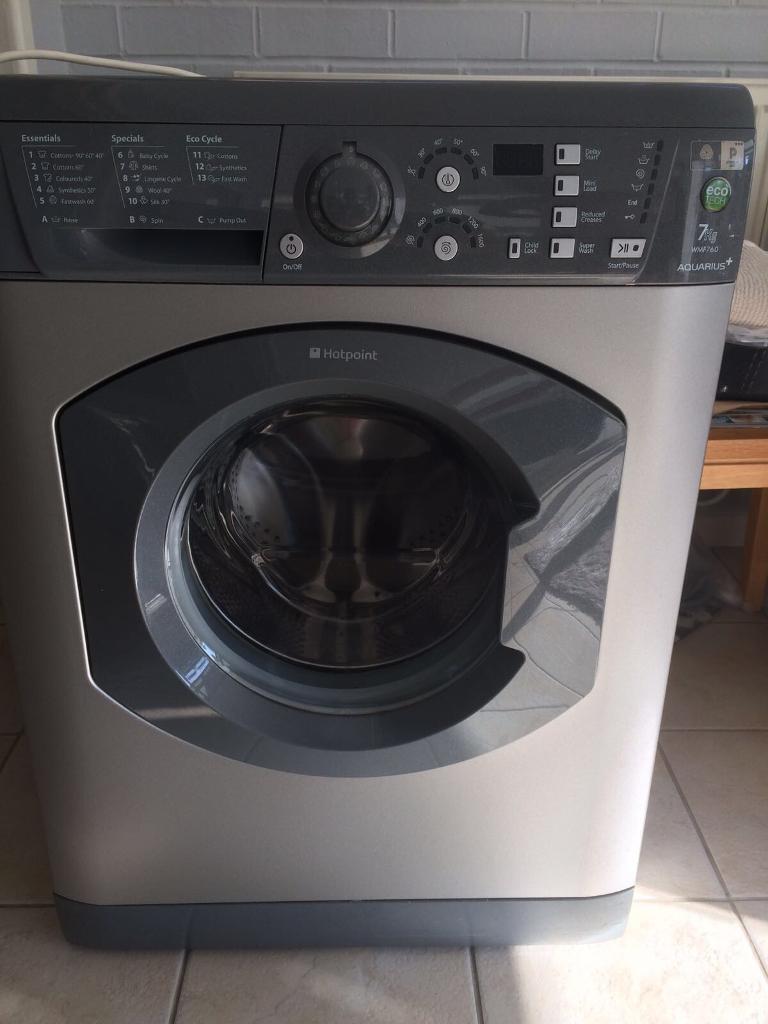 Hotpoint Graphite 7kg Washing machine