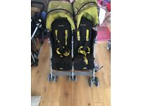 Mcclaren double buggy for sale. Used