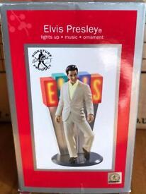 Brand new in box Elvia Presley ornament