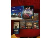 Playstation VR with camera, move controllers and 4 games