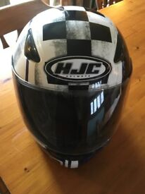 HJC motorcycle helmet. Size L 60. Good condition & never dropped