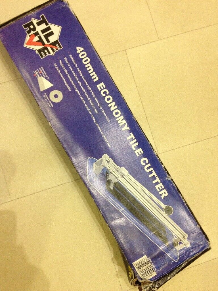 400mm tile cutter new in box
