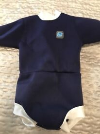 Splash about wetsuit wrap, nappy covers and liner different sizes from 3months