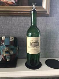 Vintage wine bottle (empty)