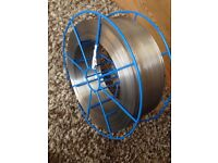 Stainless steel core welding wire