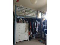 Comfortable single bunk bed - Arton 6 Hi-sleeper