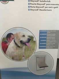 Plastic large dog flap